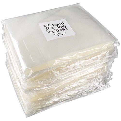"""100-11/""""x16/"""" Foodsaver style Vacuum Sealer Bags SATISFACTION GUARANTEE!!!"""