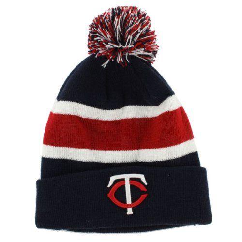 d96840a2bedf96 Minnesota Twins Breakaway Beanie Hat with Pom   Cool Minnesota Twins ...
