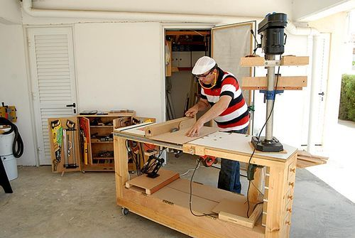 Admirable 6 In 1 Multi Power Tool Work Bench By Steliart Gmtry Best Dining Table And Chair Ideas Images Gmtryco