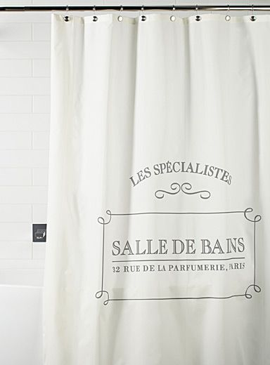 Shop Shower Curtains Online in Canada | Simons | Bathroom ...