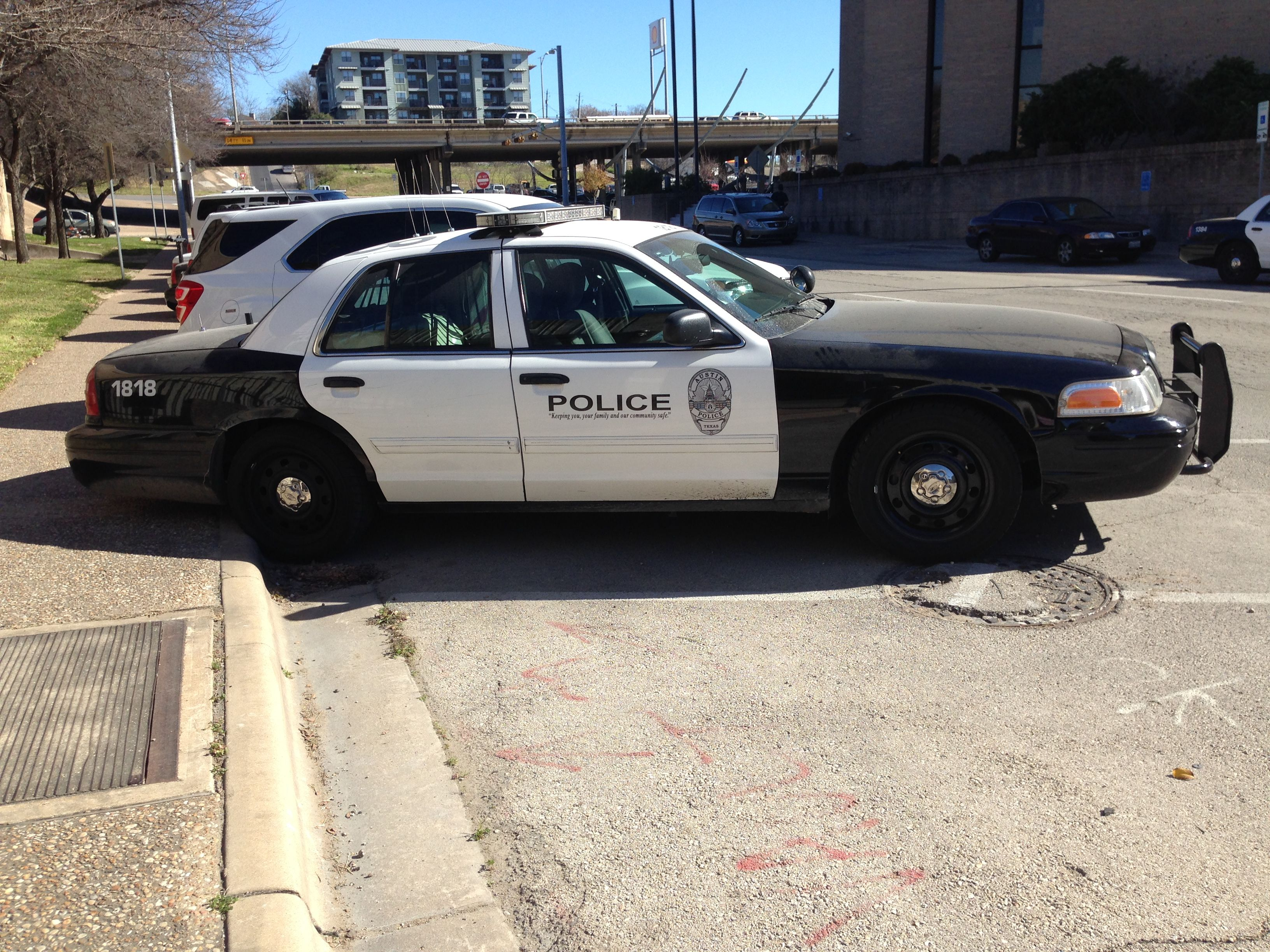 Austin police ford crown victoria