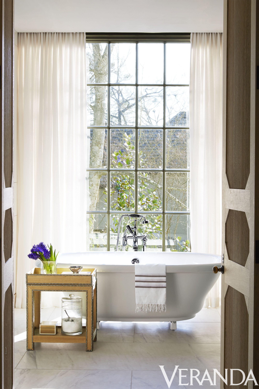 Bath under window ideas   small bathrooms characterized by effortless grace  bathtubs