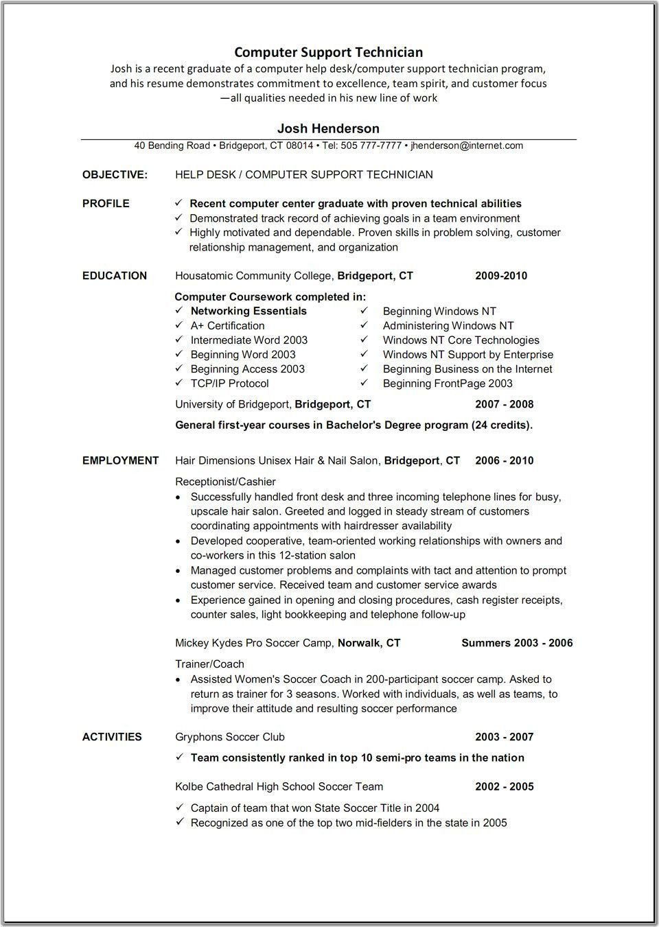 Resume for Pharmacy Tech Pin by Resumejob On