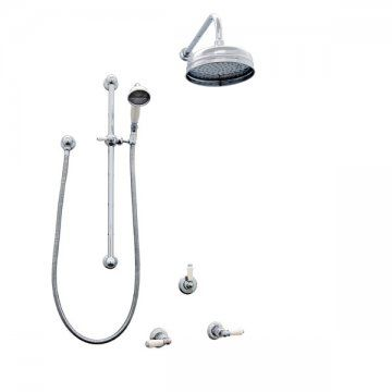 Perrin Rowe Luxurious Shower Sets Implement Water Saving Shower
