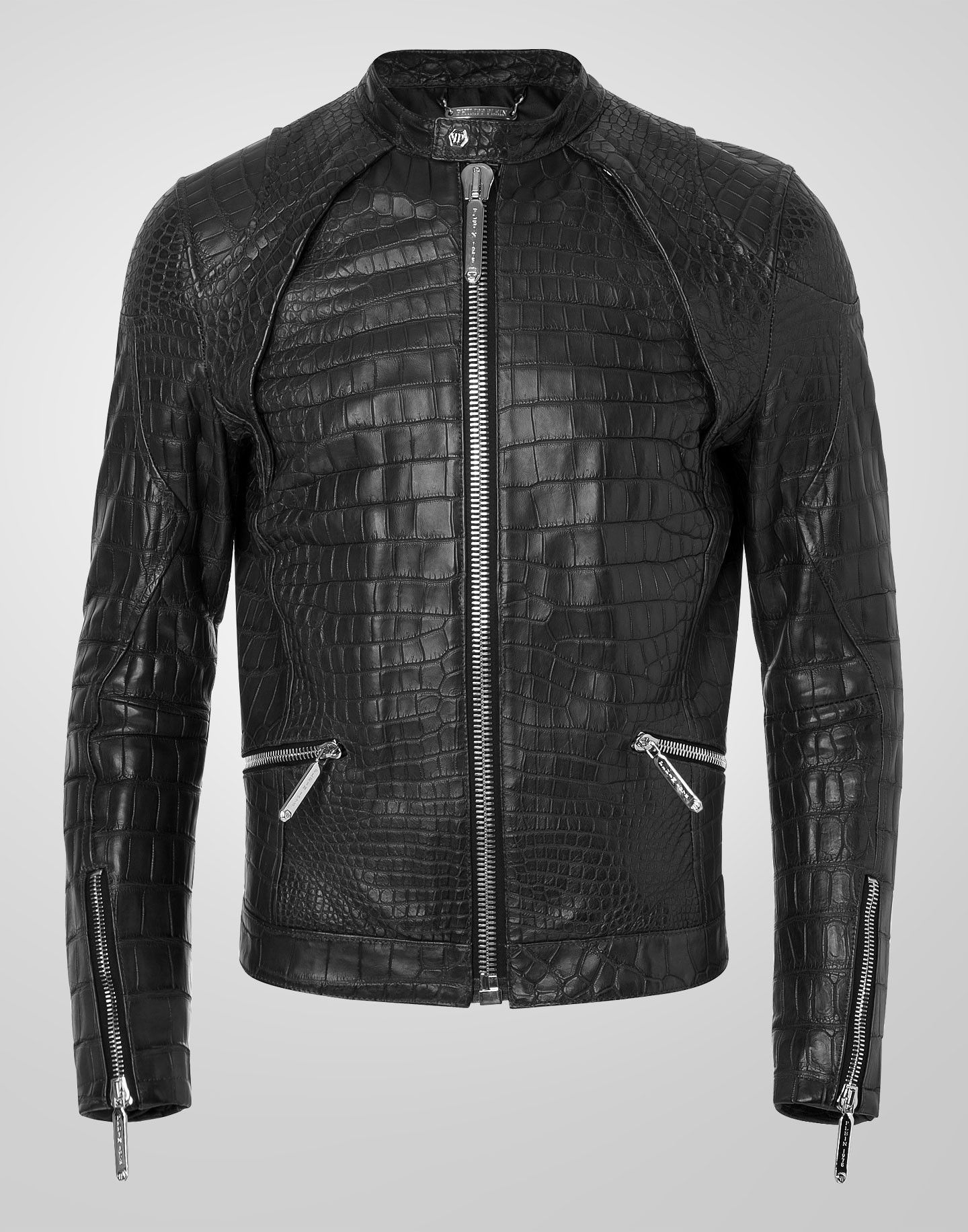 9b22335ce82d PHILIPP PLEIN LEATHER JACKET