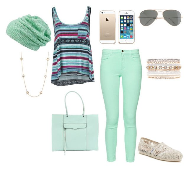 """""""Untitled #379"""" by summerloveforever335 ❤ liked on Polyvore featuring Billabong, French Connection, maurices, Rebecca Minkoff, TOMS, Kendra Scott, Lane Bryant and J.Crew"""