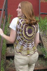Make It Crochet | Your Daily Dose of Crochet Beauty | Free Crochet Pattern: Unchained Circles Vest