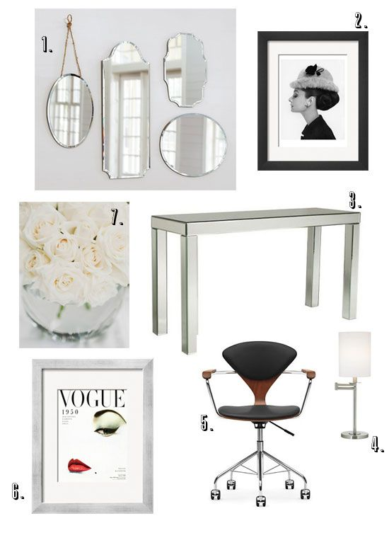 BHG Style Spotter @sfgirlbybay / victoria smith recreates a space from The Devil Wears Prada. Read more posts here: http://www.bhg.com/blogs/better-homes-and-gardens-style-blog/?socsrc=bhgpin060512