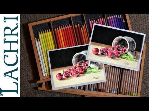 Polychromos Vs Luminance Colored Pencil Review Demo W Lachri