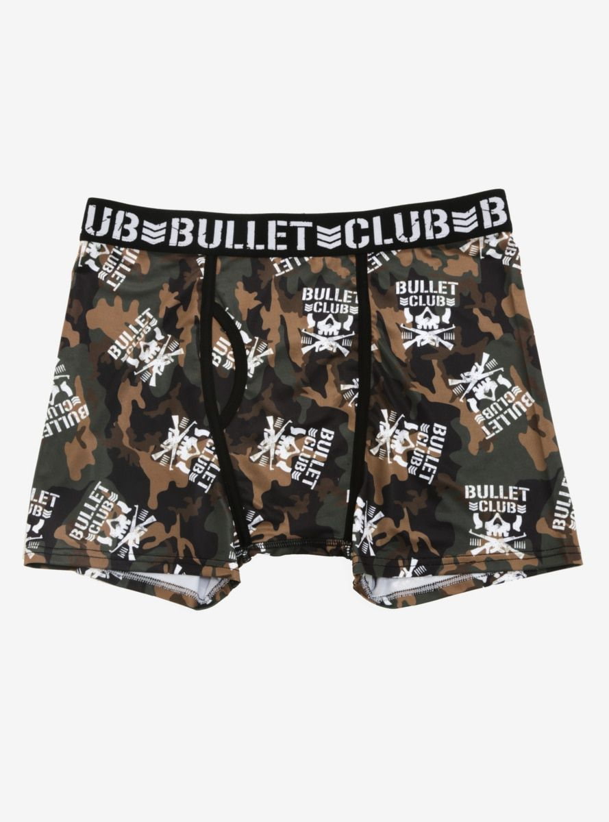 34ffb6b62a149b New Japan Pro-Wrestling Bullet Club Camouflage Boxer Briefs in 2019 ...