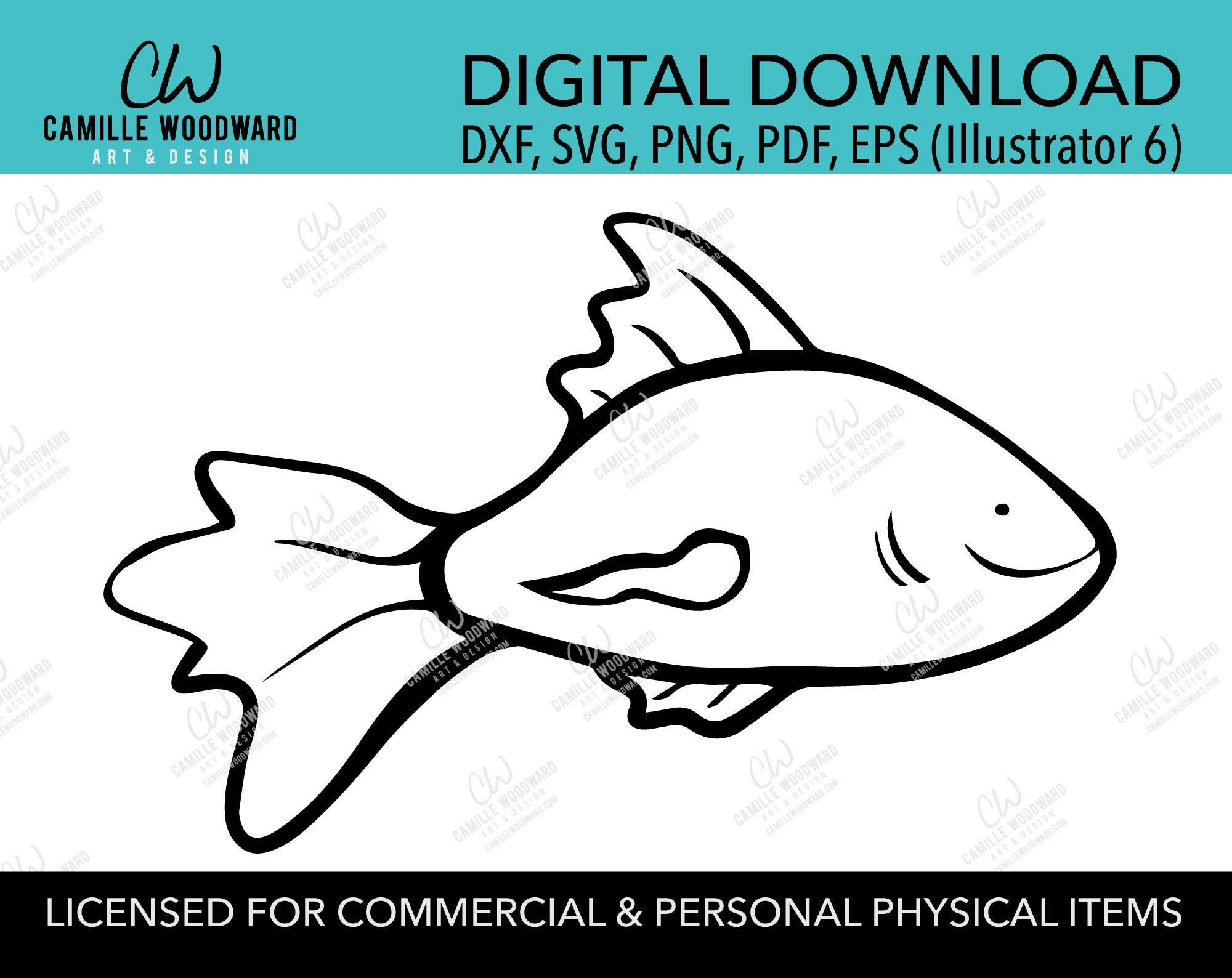 Download Happy Fish Svg Fishing Svg Gold Fish Cartoon Fish Clip Etsy Fish Clip Art Fishing Svg Fish Svg