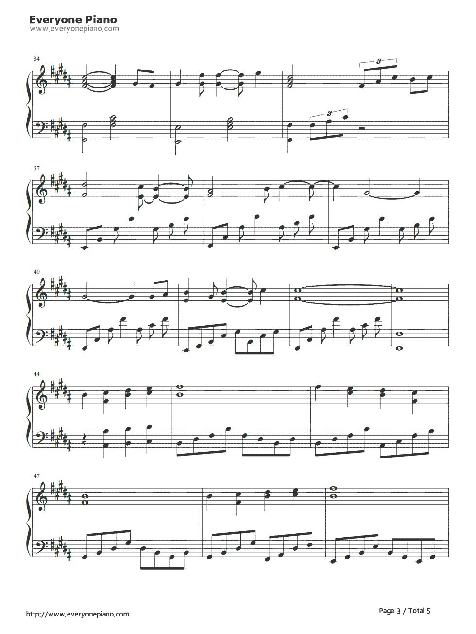 anime sheet music anime piano piano colouring pages page 3