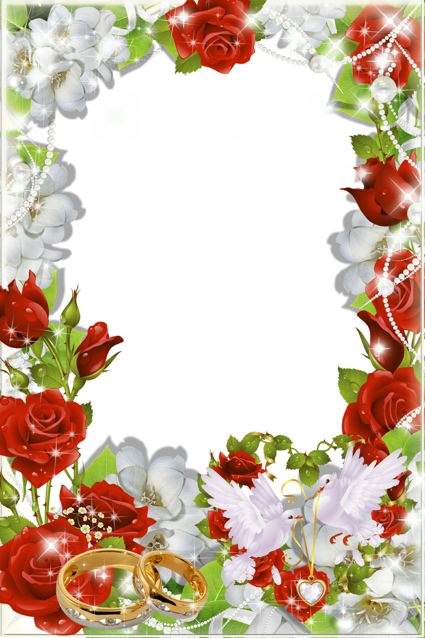 Рамки для открыток свадебных, летию