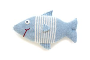 #Handmade #Toys   Wild and free. #Fournier Claudio the Fish #toy.