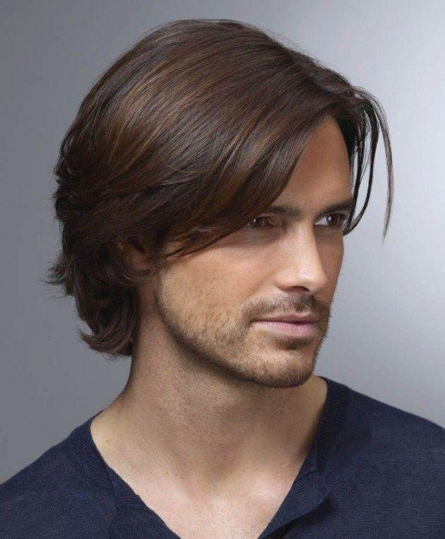 Herren Haarschnitte Lange Haare Frisur Haare Männer