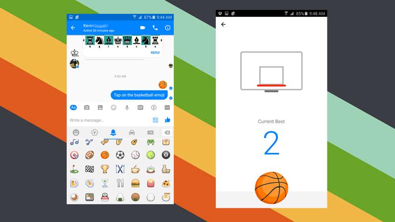 Facebook messenger games basketball cheat