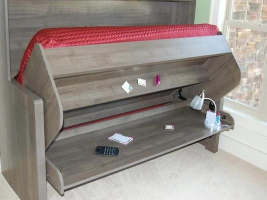 murphy bed plans with table. DIY Murphy Bed Desk Plans PDF With Table C