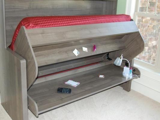 DIY Murphy Bed Desk Plans PDF Plans … | 2. HOME in 2019…