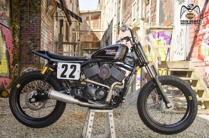 Harley Davidson: Harley 750 Street Tracker Dirt Oval Race Bike