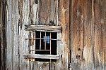 Window in an old wooden door – Window in an old wooden door …