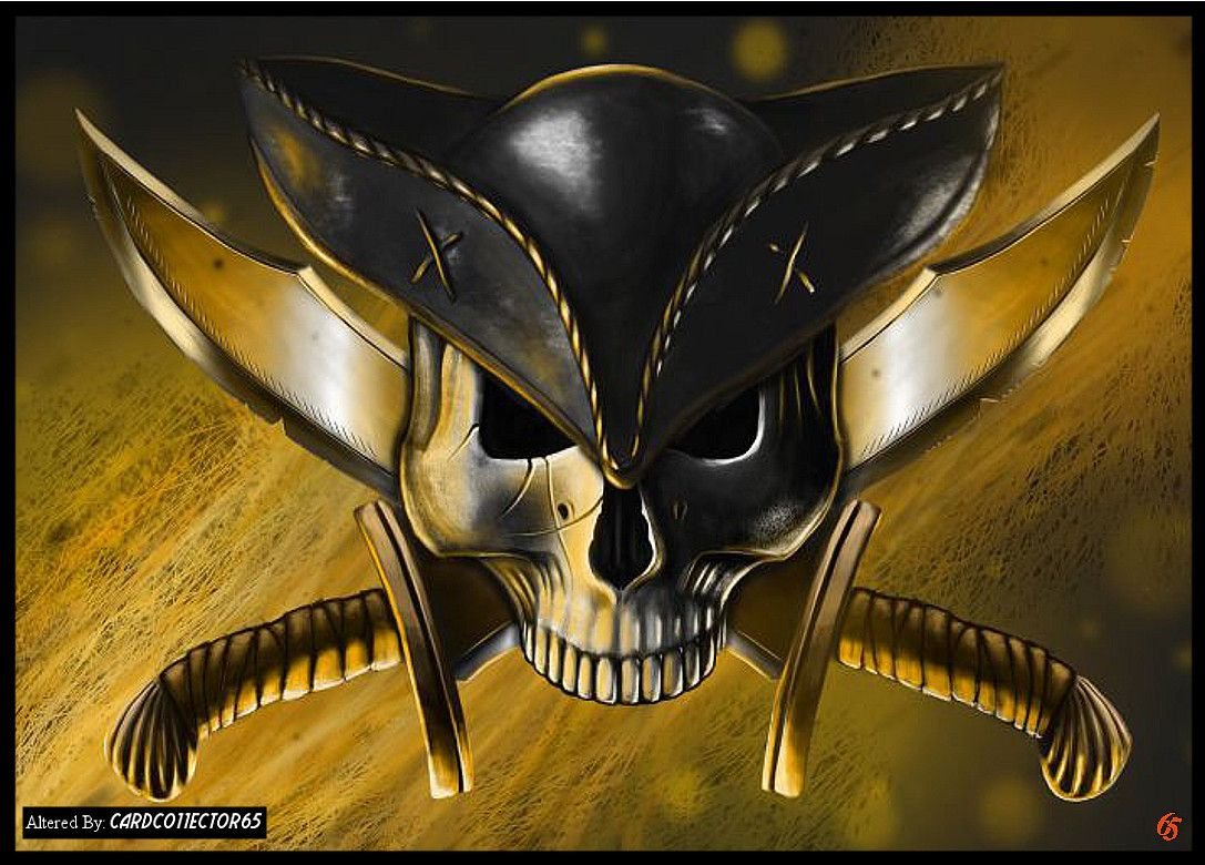 pirate u0027s skull mtg sleeves trading card sleeve designs