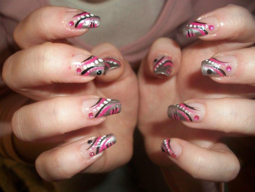 Line Art Nails : Clear nails with designs tumblr mycutenails xyz