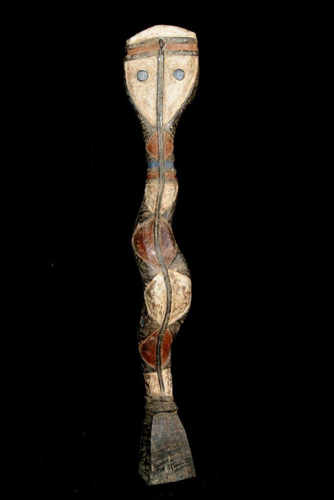Baga Snake Stool from Ivory Coast