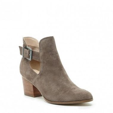 16 Fall Essentials to Buy Right Now: Suede Cut Out Booties