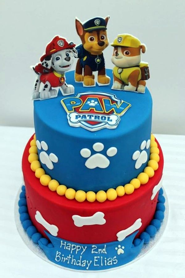 45 Magnificent Birthday Cake Designs For Kids Paw Patrols Birthday