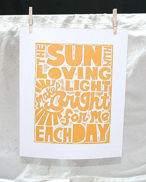 Baby Wall, You are My Sunshine, Nursery Art Print, Wall Art, Modern ...