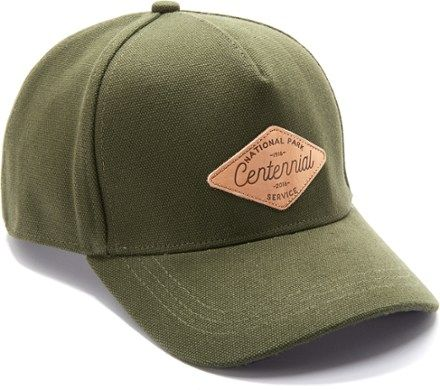 903d33d4d00 REI Co-op National Park Service Centennial Leather Patch Hat ...
