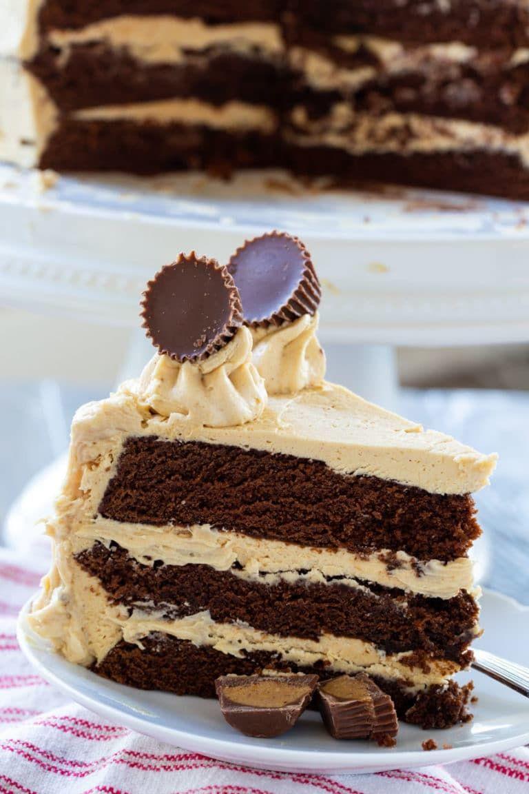 Peanut Butter Cup Cake | Recipe | Chocolate flavors ...