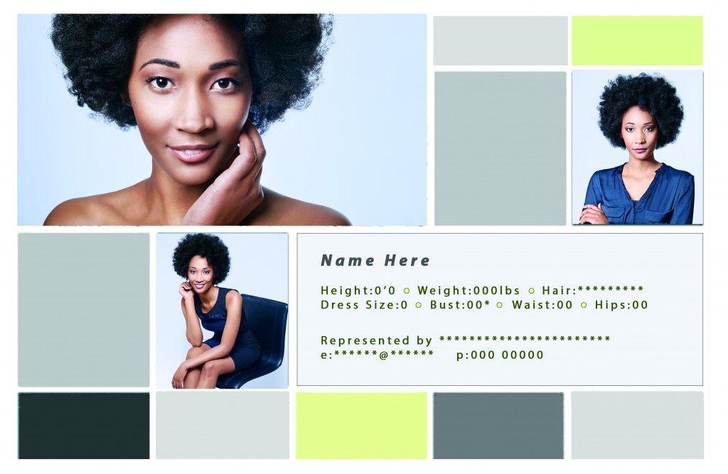Comp Card Template Of A Female Model Stuff Pinterest Actor - Card template free: free comp card template