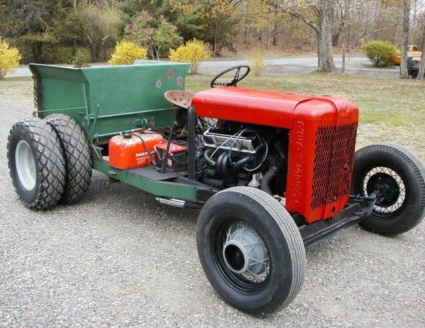 Rat Rod Lawn Tractor : Rat rod tractor cardomain old tractors