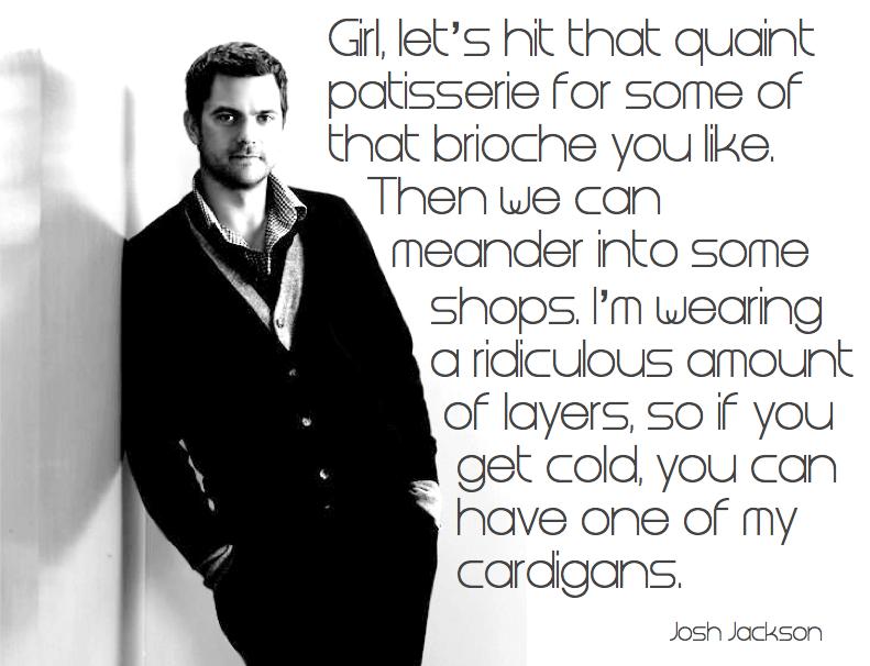 Josh Jackson and layers.