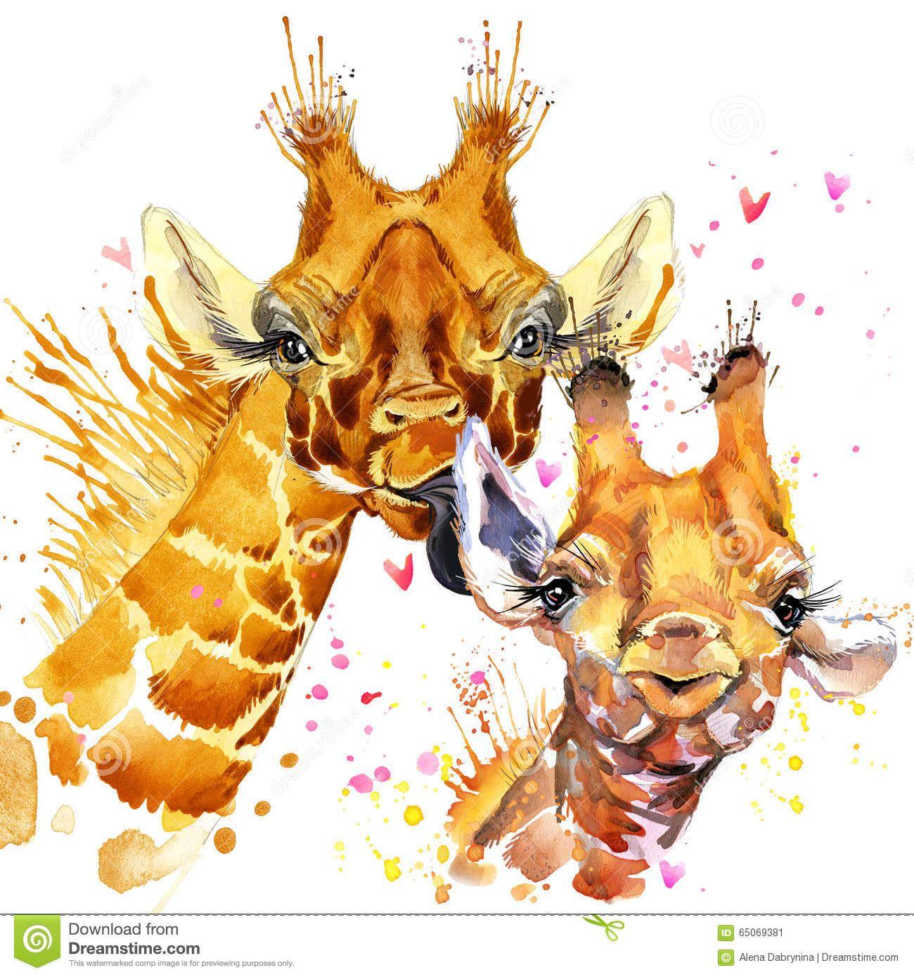 Aquarelle De Girafe Photos – 53 Aquarelle De Girafe Images ...
