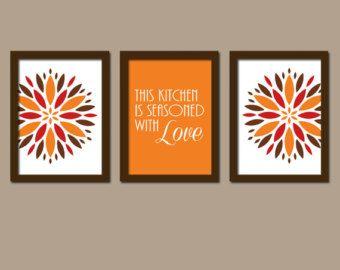 Canvas Kitchen Wall Art Makipera