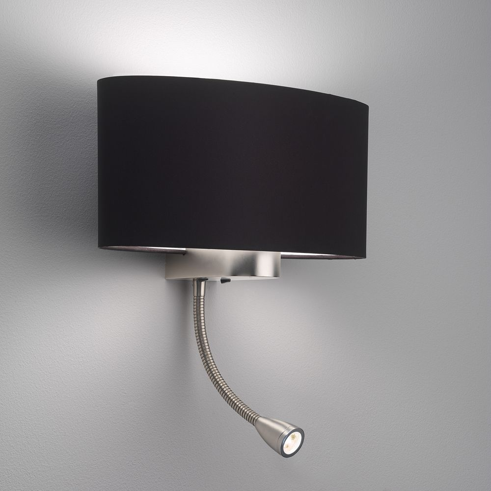 The napoli led wall light in matt nickel comes with a choice of the napoli led wall light in matt nickel comes with a choice of shades which are sold separately fitted with two switches for control of lamp led mozeypictures Gallery