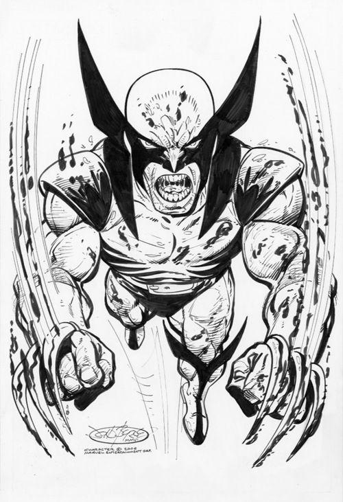 Wolverine by John Byrne | Lapiz y Tinta | Pinterest | Lápiz y Universo