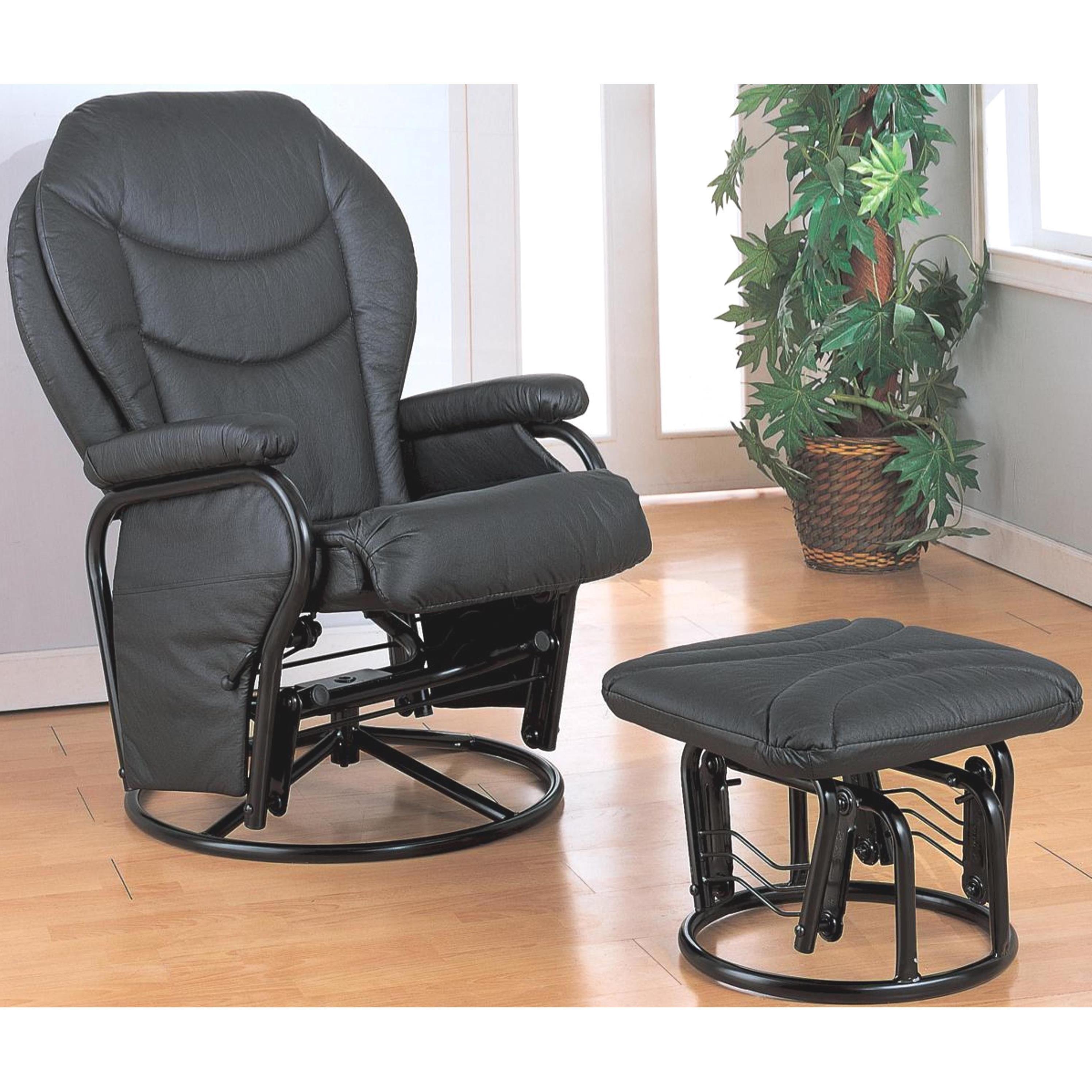 Enjoyable Ollius Swivel Glider Recliner Ottoman Set In 2019 Home Ibusinesslaw Wood Chair Design Ideas Ibusinesslaworg