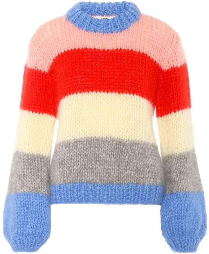 0648c6a87c31 Ganni Julliard mohair and wool sweater