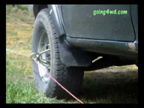 The Bush Winch Youtube Winch Truck Accessories Expedition Vehicle