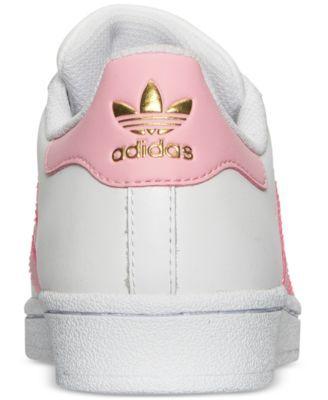 adidas Big Girls' Superstar Casual Sneakers