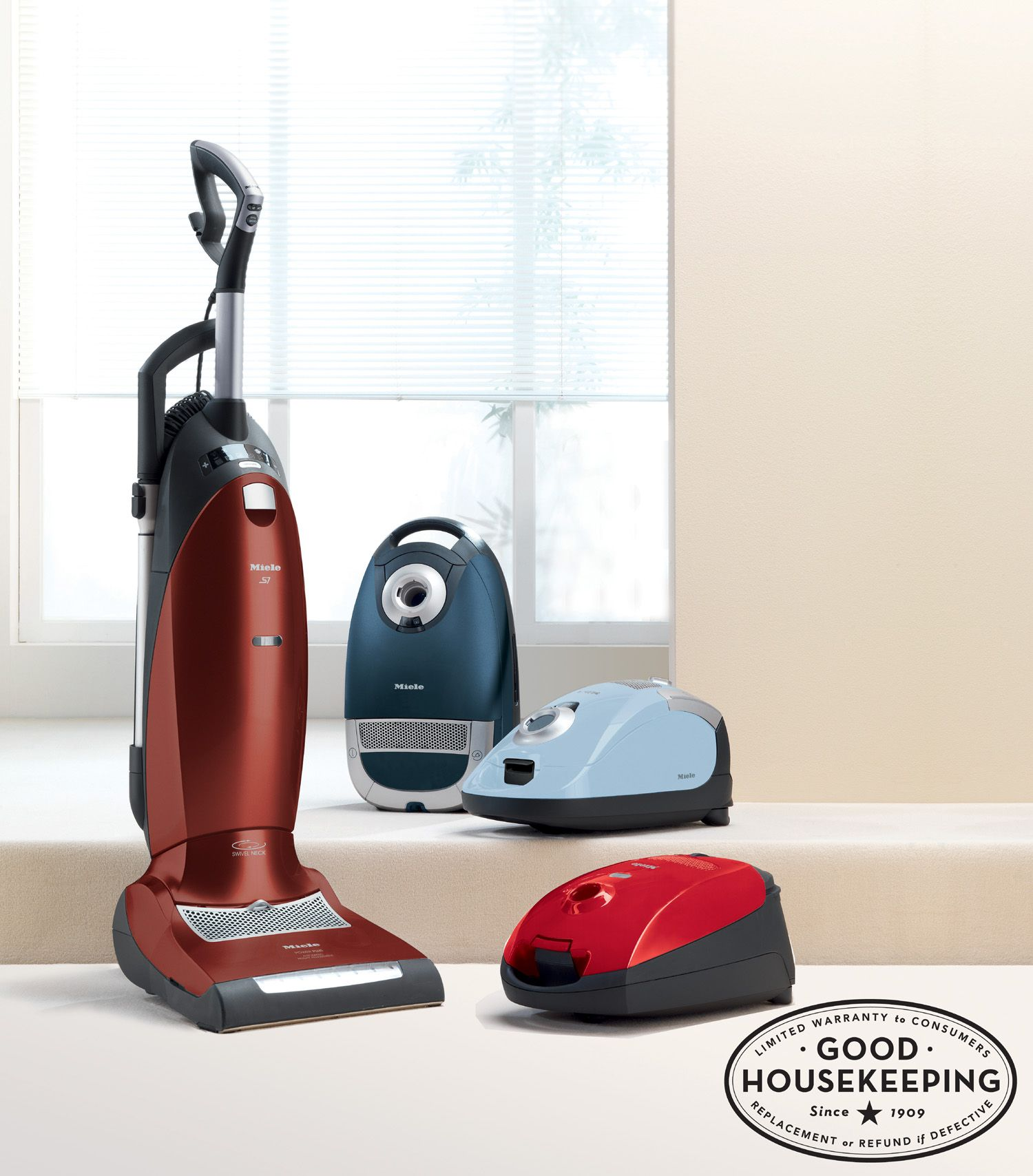 Miele Vacuum Cleaners Earn The Good Housekeeping Seal