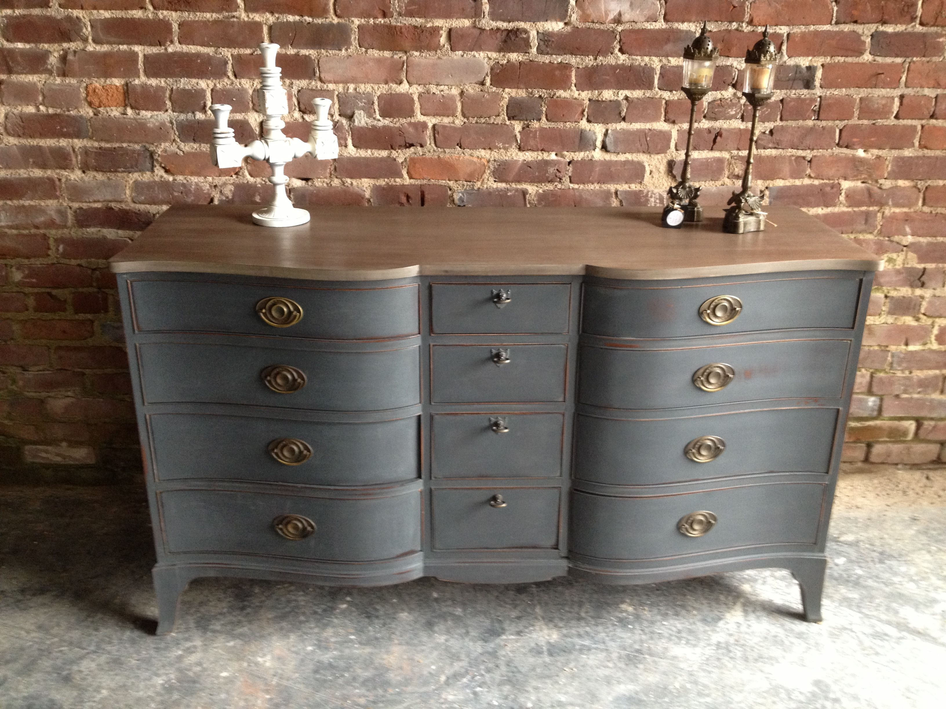 Graphite, chalk paint TM decorative paint by Annie Sloan | furniture ...
