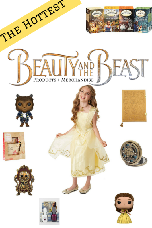Top Beauty and the Beast Products and Merchandise
