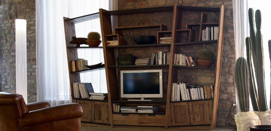 Libreria Collezione Unika | Centro Veneto del Mobile | lucy idee ...