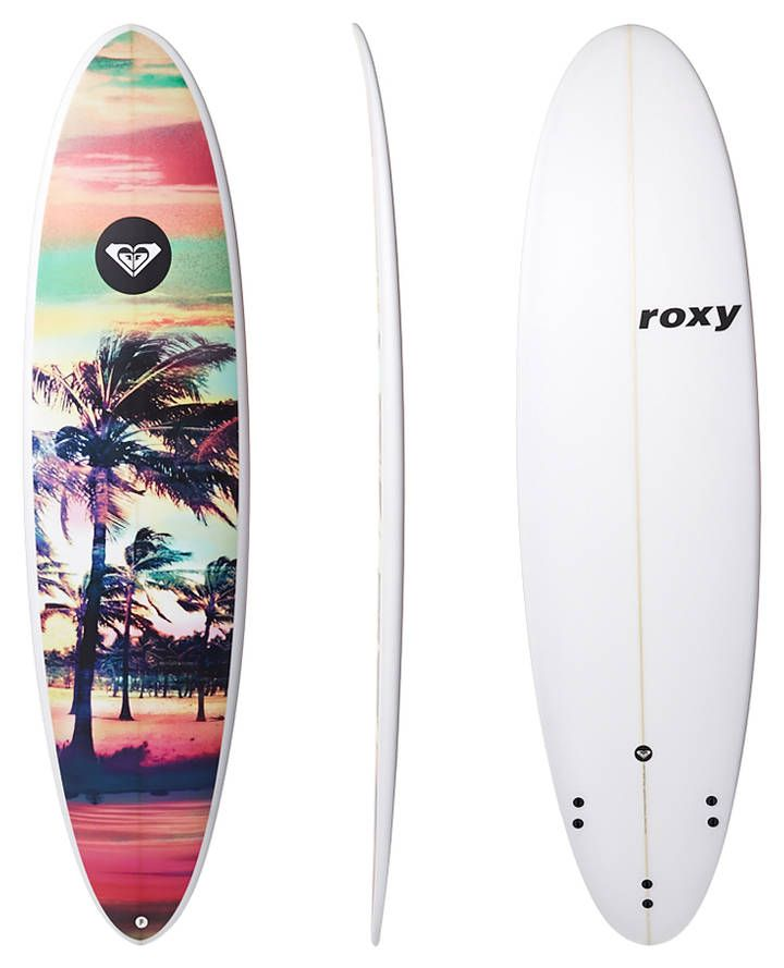 Pix For > Roxy Surfboards On The Beach …