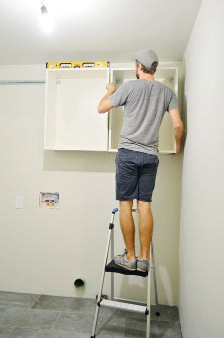 How To Hang Ikea Cabinets Young House Love Ikea Cabinets Ikea Cupboards Ikea Wall Cabinets