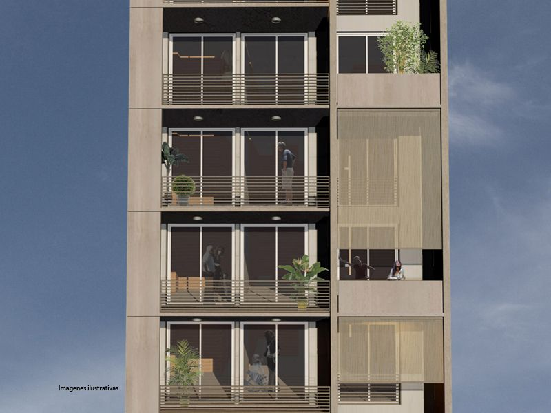 Edificios de apartamentos peque os entre medianeras for Fachadas para departamentos pequenos
